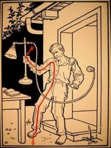 Невозможно освободиться от электричества