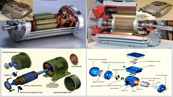 синхроный и асинхронный двигатель